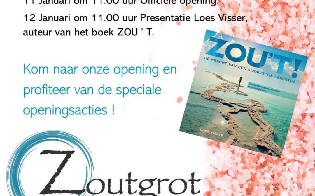 11 – 12 Januari: Opening Zoutgrot