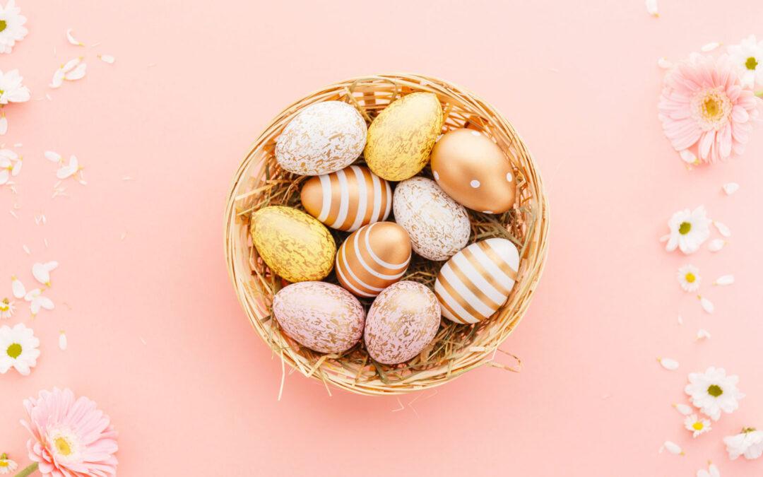 Openingstijden rondom Pasen!