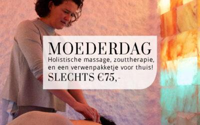 Moederdag 2021 bij Zoutgrot & Zo: Holistische Massage & Zouttherapie in de zoutgrotten!